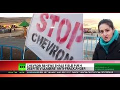'Violence & Intimidation': Chevron fracking again in Romania despite local protests - YouTube