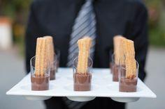 Churros Dipped in Chocolate | Desserts by 24 carrots