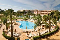 ClubHotel Riu Guarana All Inclusive Resort, Portugal Albufeira Portugal, Faro Portugal, Riu Hotels, All Inclusive Resorts, Hotel Algarve, Make It Easy, Inclusive Holidays, Relax, Family Resorts
