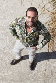 Stefano Zulian Karl sommo shirt fashion model blogger stile for man