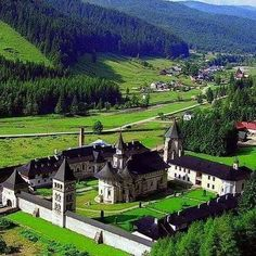 "Elena (Livia) D. on LinkedIn: ""Manastirea Putna"" The Beautiful Country, Beautiful World, Beautiful Places, Places To Travel, Places To See, Monastery Icons, Romania Travel, Turism Romania, Viajes"