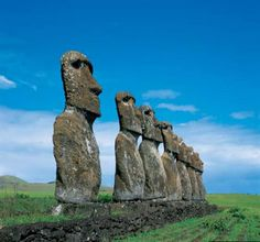 Easter Island I would like to take Cody here just once so I can see him do the me no dum dum me want gum gum bahaha