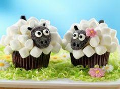 Cupcakes ovelinhas