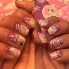 Disney congelati Nail Art decalcomanie