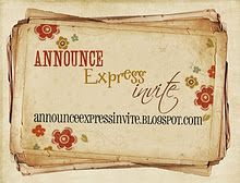 Announce Express Invite...LDS printables