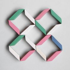 16 erasers. Stationery compositions by Present&Correct