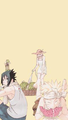 Kakashi , Sasuke, Sakura e Naruto Kakashi Itachi, Kurama Naruto, Naruto Sasuke Sakura, Narusaku, Sakura Haruno, Anime Naruto, Anime Ninja, Naruto Funny, Naruto Art