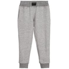 Boys Grey Cotton Jersey Tracksuit Trousers, Little Marc Jacobs, Boy