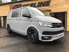 Custom VW T6 Transporter   Vehicle Wraps   Raceline Sports Vans
