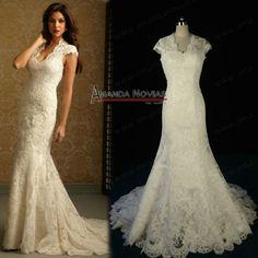 Hot Sale Lace Cap Sleeve Elegant Real Sample Wedding Dresses NS186, View real sample wedding dress, AMANDA NOVIAS Product Details from Suzhou Novias Wedding Dress Co., Ltd. on Alibaba.com