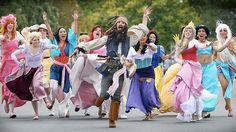 Run Captain Jack run!  #piratesofthecarribbean #disney #princesses