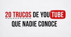 AYUDA PARA MAESTROS: 20 Trucos de Youtube que nadie conoce