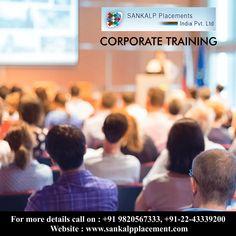 Corporate Training  #sankalpplacement #recruitment #career #jobhunt