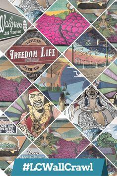 Lake Charles Wall Crawl: 13 Murals You'll Want to See Louisiana Art, Lake Charles, Day Trips, Murals, Vacation, Wall, Artist, Travel, Life