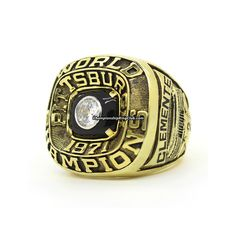 1971 Pittsburgh Pirates  World Series Championship Ring. Best gift from www.championshipringclub.com for Pittsburgh Pirates   fans. Custom your own personalized championship ring now.