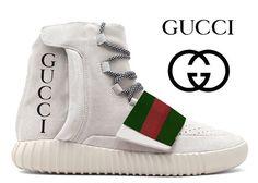 Yeezy 750 Boost x Gucci ------------------------------------ #shoes #sneakers #nike #adidas #sneakerhead #igsneakercommunity #jordan #newbalance #collaboration #company #collection #rare #gucci #guccimane #yeezy #yeezy750