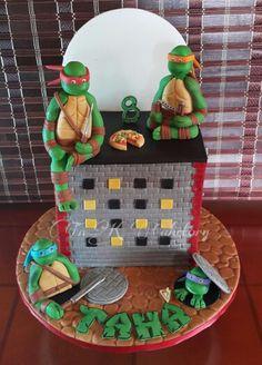 #TMNTcake #ninjaturtlescake #ninjaturtles