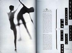 Alexey Brodovitch and Man Ray, Harper's Bazaar