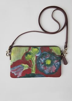 VIDA Statement Bag - Australica Hibiscus by VIDA
