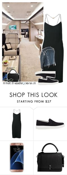 """""""Celebrity Life: My Private Jet: Washington ✈️ New York City"""" by jhessicakauana ❤ liked on Polyvore featuring Calvin Klein Collection, Prada Sport, Samsung, Carven and Persol"""