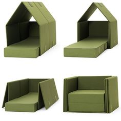 """Just think: A """"play house"""" for the kids until it's time to have a BBQ with friends. Then; oila! Extra seating!"""