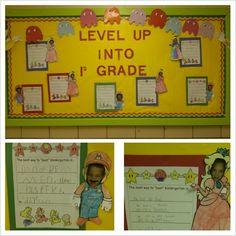 Classroom theme Mario/ video game bulletin board