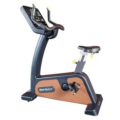 The C576U Status Series Upright Cycle from SportsArt is a full commercial club-rated exercise bike which delivers a non-impact, highly effective cardio workout. The SportsArt ECO-NATURAL™ line is the embodiment of design, technology, mobility, and cardiovascular excellence.