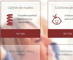 creacion web empresa colchon