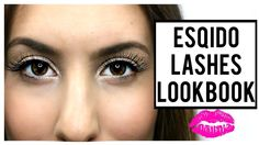ESQIDO LASHES LOOKBOOK (All Styles Available) ♡ #minklashes #falseeyelashes #natural