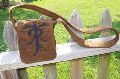 Tolkien Messenger Bag by StayingInStitches on Etsy