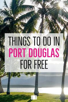 We all love free things to do. In Port Douglas we can offer you hikes, walking trails, beautiful lookouts, historic buildings, waterfalls, beauty spots, wildlife and volunteering opportunities. All absolutely free. We have another post on general things to do in Port Douglas. This post is for those of us on a tight budget or just lovers of the natural world. Coast Australia, Australia Travel, Travel Goals, Travel Tips, Volunteering Opportunities, Road Trip Hacks, Free Activities, Free Things To Do, Love Is Free