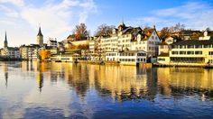 Combine culture with nature on this tour of Zurich. See the city's top attractions, enjoy a boat cruise on Lake Zurich and an aerial cable car ride to Felsenegg to admire the panorama of Switzerland's largest city. Switzerland Tourism, Lake Zurich, Hotels, Places To See, Around The Worlds, Tours, Country, Travel Checklist, Travel List