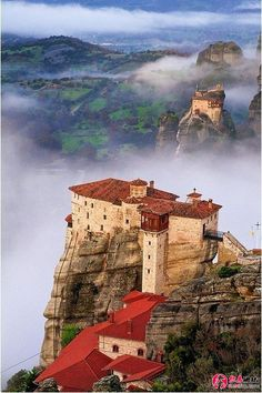 "See 1386 photos from 6501 visitors about meteora, greece, and scenic views. ""In the central Greece one of the most impressive & special places in the. Places Around The World, Oh The Places You'll Go, Places To Travel, Travel Destinations, Places To Visit, Around The Worlds, Wonderful Places, Beautiful Places, Amazing Places"