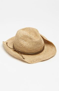 Tarnish Straw Cowboy Hat available at #Nordstrom; need this for the lake!