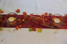 Tischdekoration Herbst mit Kürbis repinned by www.landfrauenverband-wh.de #landfrauen #landfrauen wü-ho #kreativ
