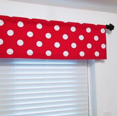 Large Dots Lipstick Red POLKA DOT Premier Prints by OldStation, $24.50
