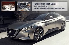 #Nissan presents the V-Motion 2.0 concept sedan, the first ever semi-autonomous concept car with innovative technologies and dynamic design.