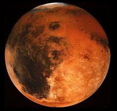 One day on Mars takes just a little over 24 hours (the time it takes for Mars to rotate or spin once). Mars makes a complete orbit around the sun (a year in Martian time) in 687 Earth days. Mars is a rocky planet, also known as a terrestrial planet. Mars' solid surface has been altered by volcanoes, impacts, crustal movement, and atmospheric effects such as dust storms. Mars has a thin atmosphere made up mostly of carbon dioxide (CO2), nitrogen (N2) and argon (Ar). Mars has two moons named…