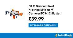 50 % Discount Nerf N-Strike Elite Nerf Camera ECS-12 Blaster, £39.99 at The Entertainer