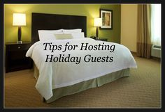 Because sometimes its better when your guests truly have their own room ~ Tips for Hosting Holiday Guests and Hampton Hotels #Giveaway #spon