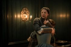 "Official 212 ""The Hail Mary"" with Mary Hawkins (Rosie Day) and Claire Fraser (Caitriona Balfe) in Outlander Season Two on Starz"