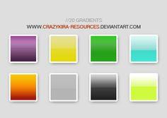 Gradients style by crazykira-resources on DeviantArt