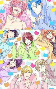 look how Yuri sleeps Otaku Anime, Comic Anime, Bakugou Manga, Manhwa Manga, Fanarts Anime, Anime Characters, Yuri, Ayato, Cute Anime Wallpaper