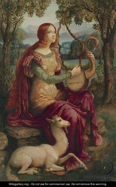 La Dame A La Licorne - Armand Point