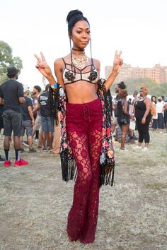 boho at the afropunk fest