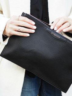 Givenchy clutch + another monochrome moment!