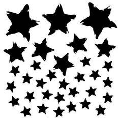 New Dina Wakley Stencil: Star Fall