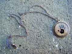 Skyrim Dark Brotherhood Hand Necklace by SuperfastSpider on Etsy, $8.99