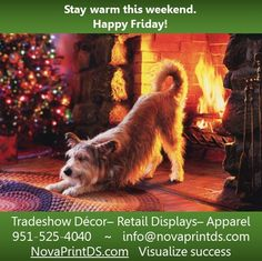 Stay warm and spread some holiday cheer this weekend! www.NovaPrintDS.com
