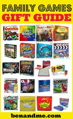 Over the years, we have amassed quite a collection of educational games. Here are our favorites.